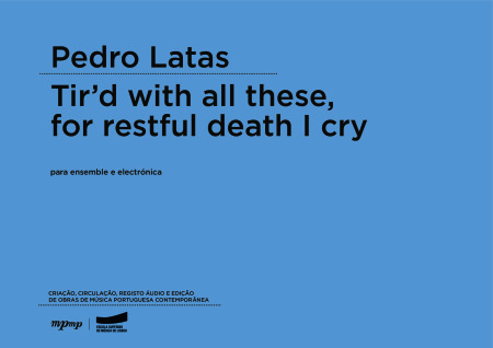 Pedro Latas | Ti'rd with all these