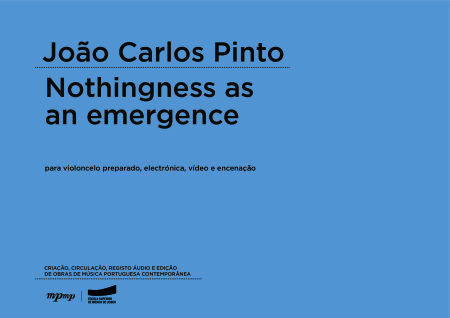 João Carlos Pinto | Nothingness as an emergence